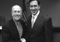 Mark Mayfield (l.) with Chris McDaniel