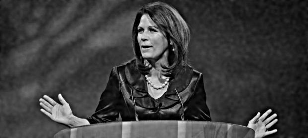 NATIONAL HARBOR, MD — MARCH 16: Rep. Michele Bachmann (R-MN) speaks at the 2013 Conservative Political Action Conference (CPAC) March 16, 2013, in National Harbor, Maryland. The American Conservative Union held its annual conference in the suburb of Washington, DC to rally conservatives and generate ideas. (Photo by Pete Marovich/Getty Images)