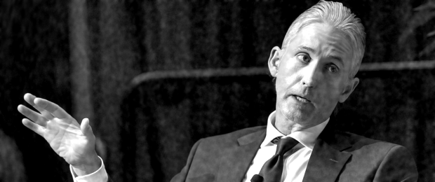 Rep. Trey Gowdy (R-SC04), chair of the House Select Committee on Benghazi, speaks in an interview 16 October 2015.  (Detail of photo by Getty Images)