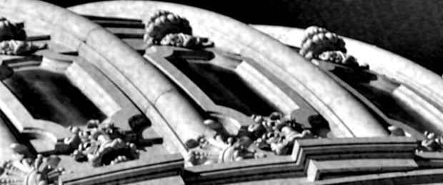 A portion of the U.S. Capitol dome. (Detail of photo by Win McNamee/Getty Images, 2013)