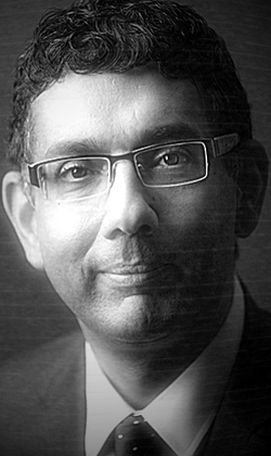 Dinesh D'Souza (Detail of photo by JonesFoto, 2012.)
